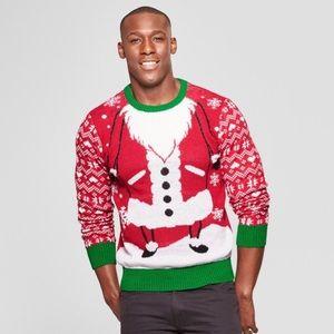 Santa Christmas Family Ugly Sweater S Holiday